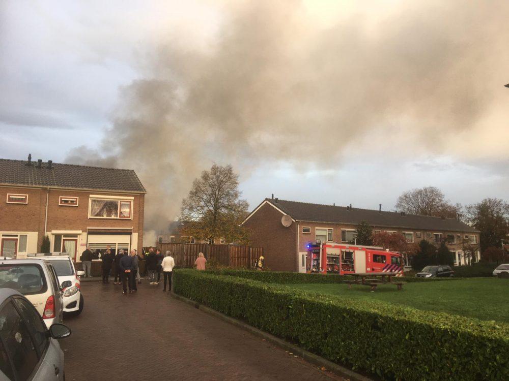 Brand in camper Van Houtenstraat Zutphen