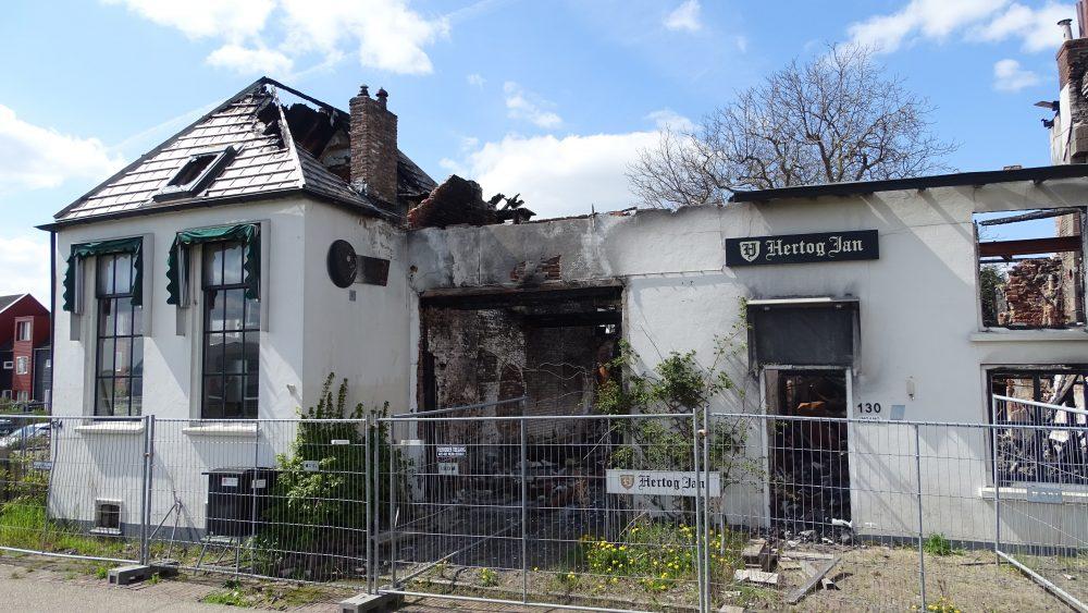 Brand herberg Het Kanon Zutphen - Foto: Manuel Bruna